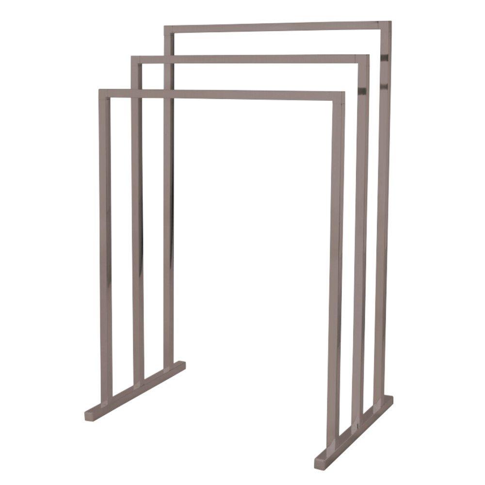Kingston Brass SCC8288 Pedestal 3-Tier Steel Construction Towel Rack ...