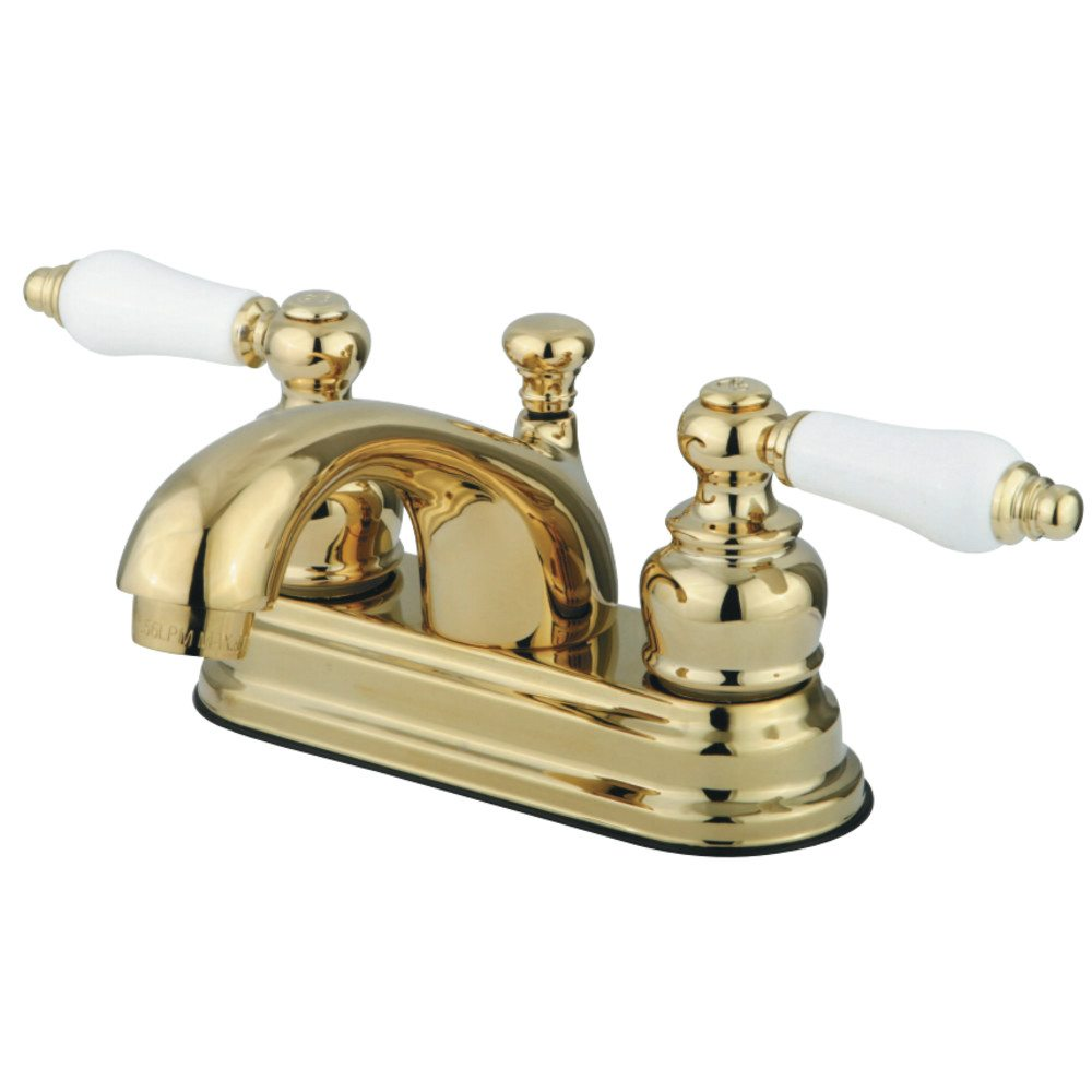 Kingston Brass Gkb2602pl Water Saving Vintage Centerset