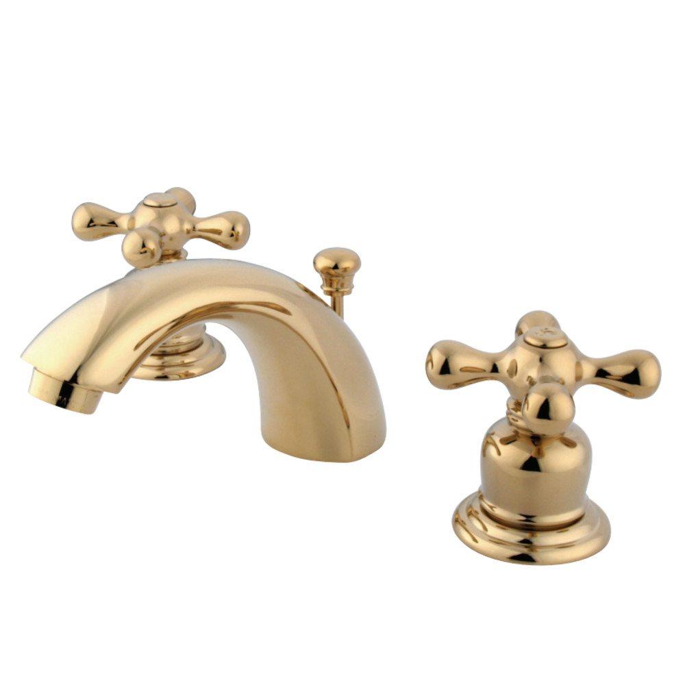 Kingston brass kb942ax victorian mini widespread lavatory - Kingston brass victorian bathroom faucet ...
