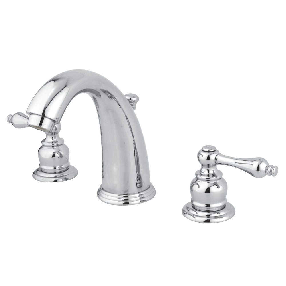 Kingston brass gkb981al water saving victorian widespread for Water saving bathroom faucets
