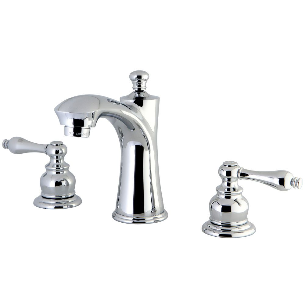 Kingston Brass Kb7961al 8 Inch Widespread Lavatory Faucet Polished Chrome Kingston Brass
