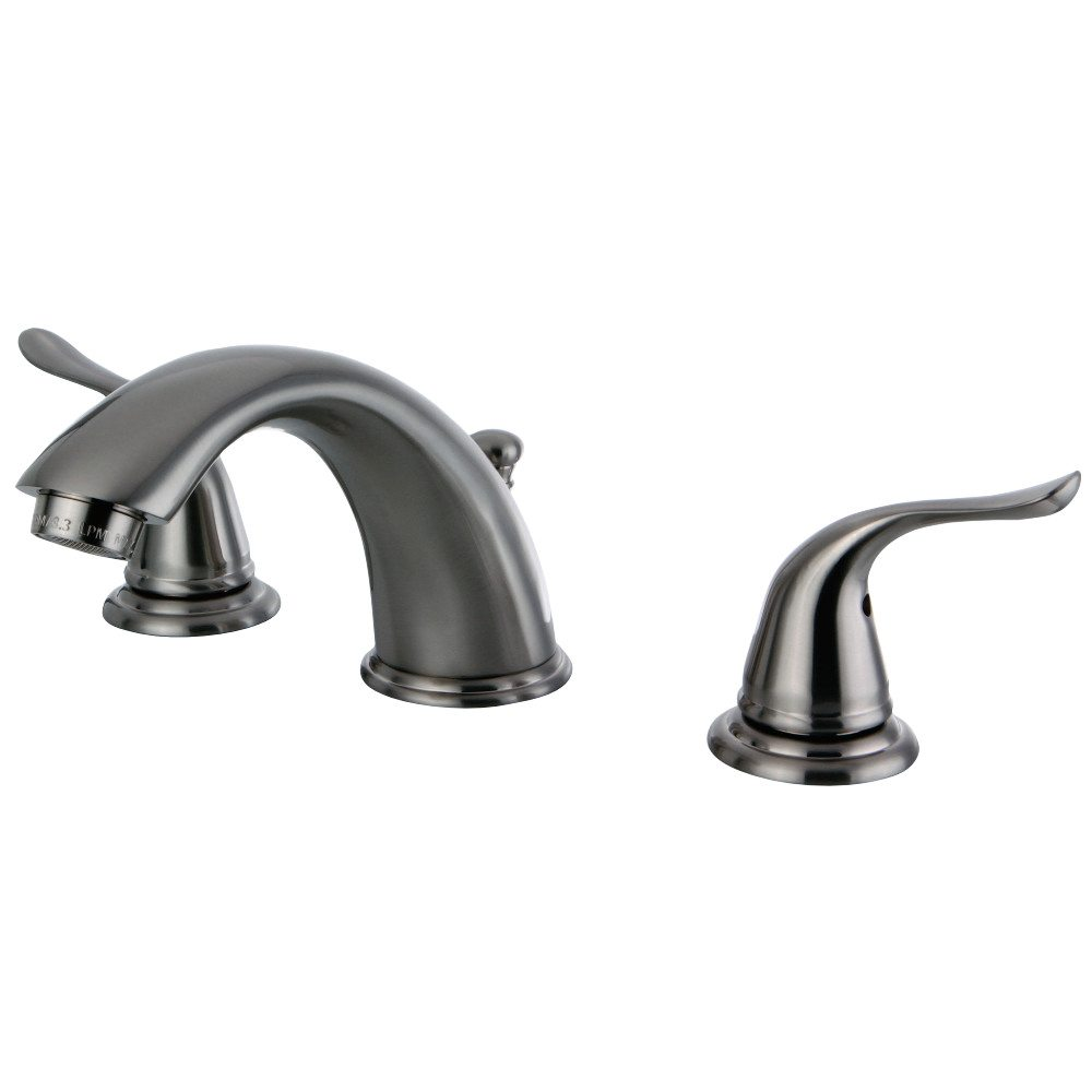 Kingston Brass Kb2968yl Widespread Two Handle Lavatory Faucet Brushed Nickel Kingston Brass