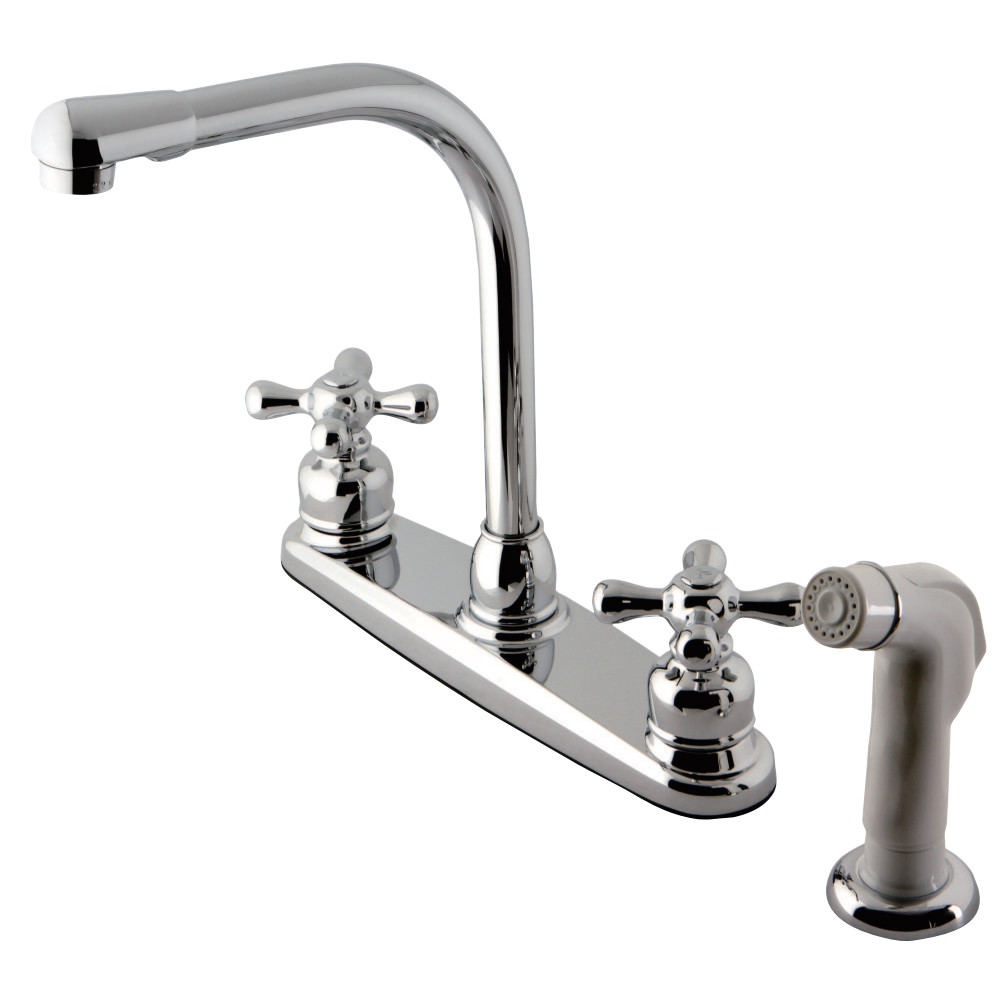 high arch kitchen faucet kingston brass kb711ax high arch kitchen faucet 18045