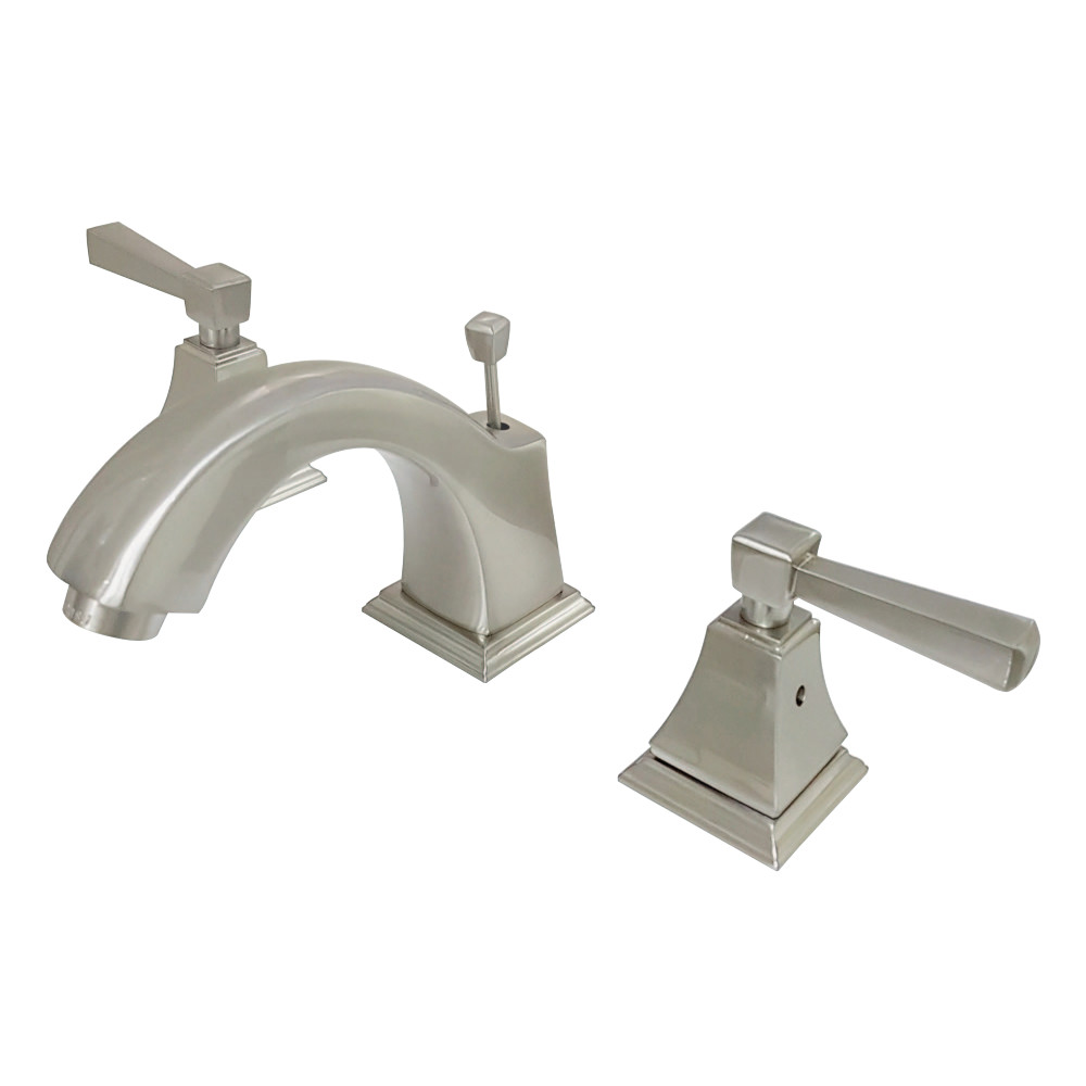 Fauceture Fsc4688dl 8 Inch Widespread Lavatory Faucet Brushed Nickel Kingston Brass