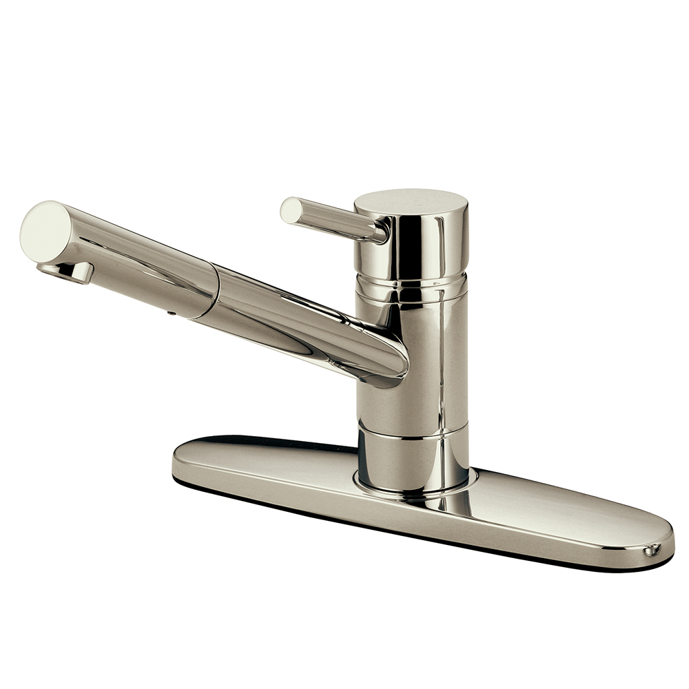 Kingston Brass Ks8568dlls Concord 8 Centerset Kitchen Faucet Brushed Nickel Kingston Brass