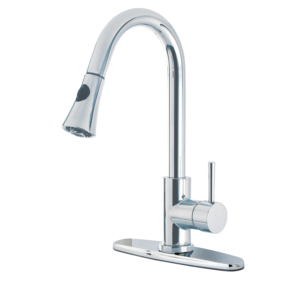 Gourmetier Gs8721dl Concord Single Handle Faucet With Pull