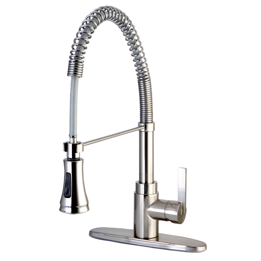 Gourmetier GS8878CTL Continental Single Handle Pull-Down Spray ...
