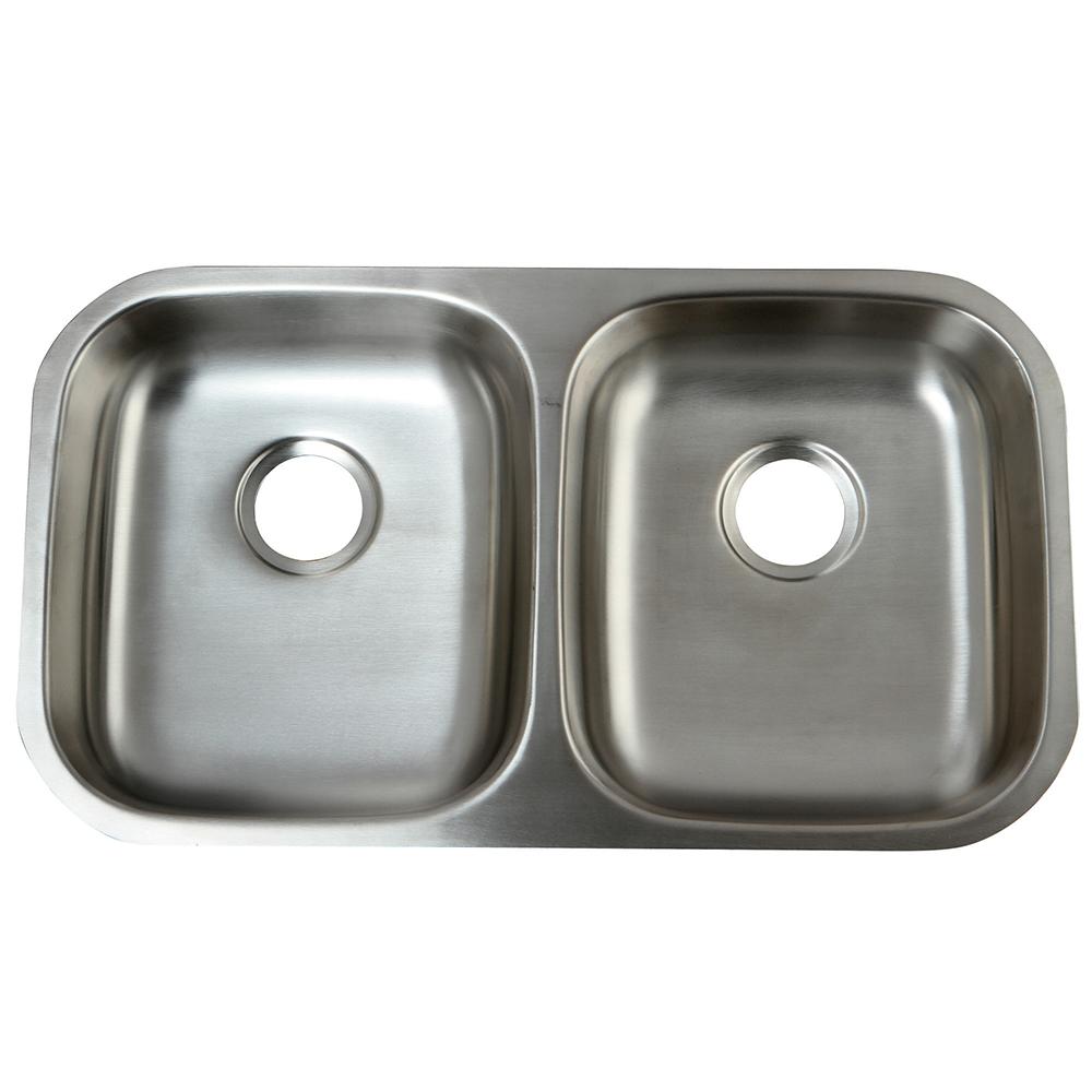 Gourmetier GKUD32194 Undermount Double Bowl Kitchen Sink