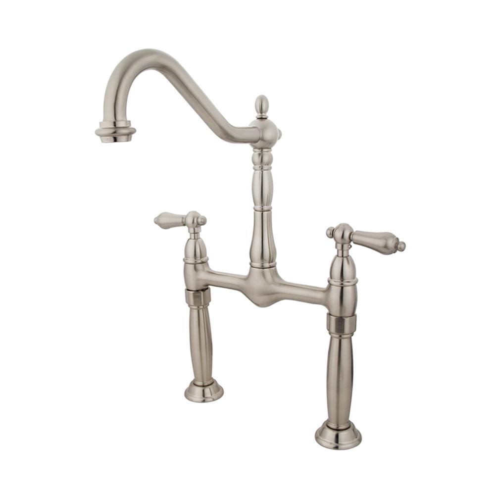 Kingston brass ks1078al victorian vessel sink faucet - Kingston brass victorian bathroom faucet ...