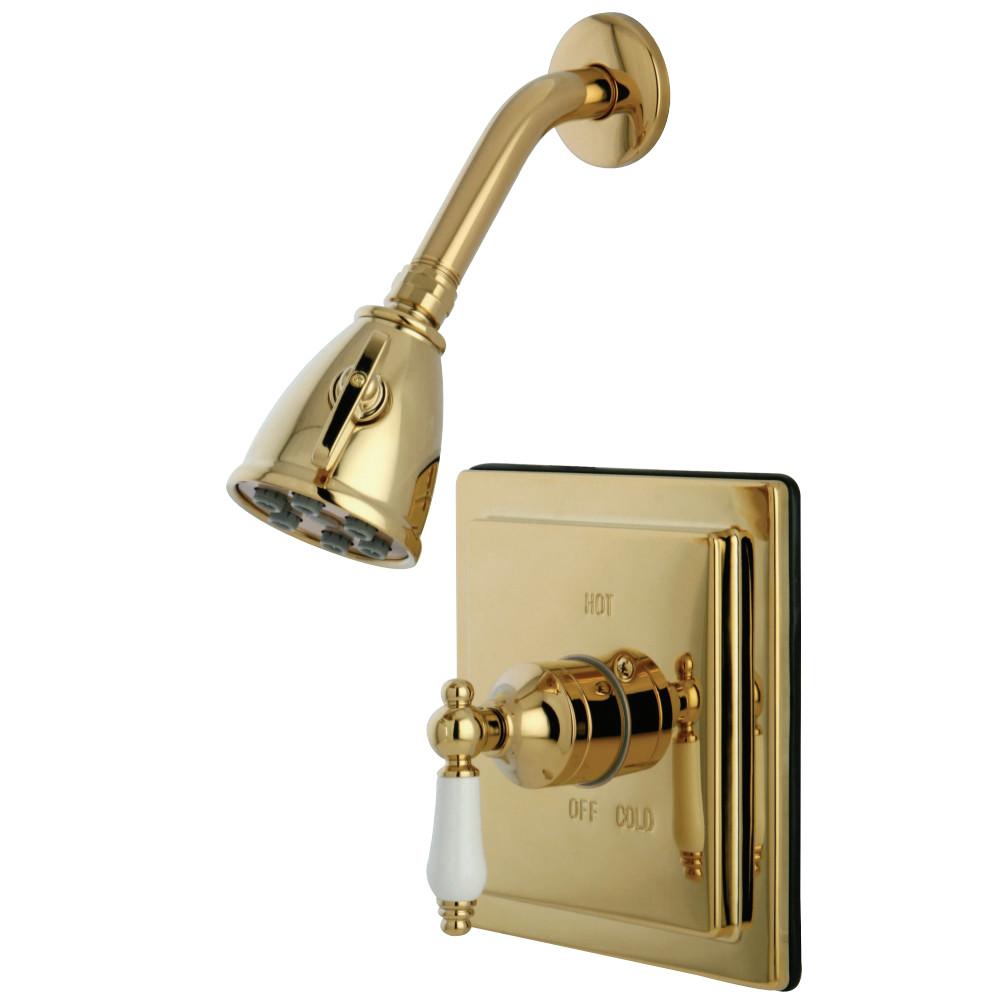 Kingston Brass VB8652PLSO Victorian Tub & Shower Shower Faucet ...