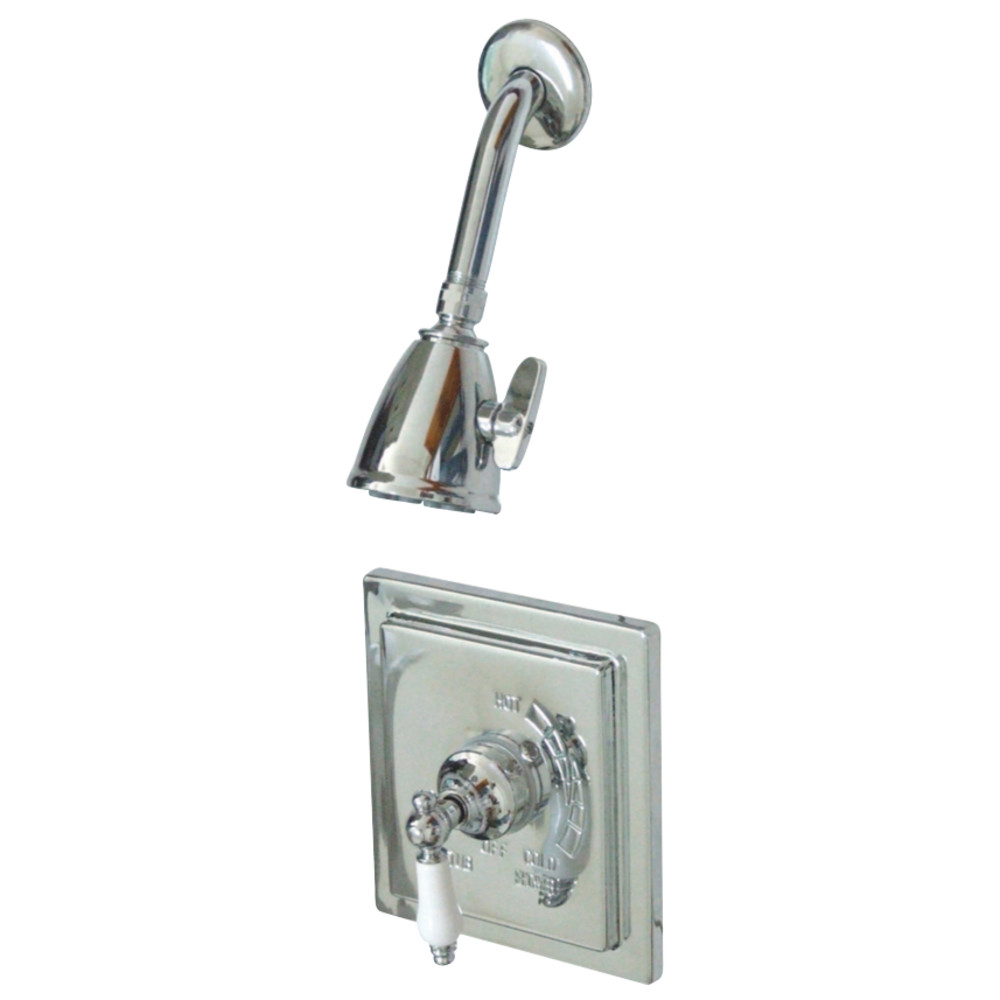 Kingston Brass VB8651PLSO Victorian Tub & Shower Shower Faucet ...
