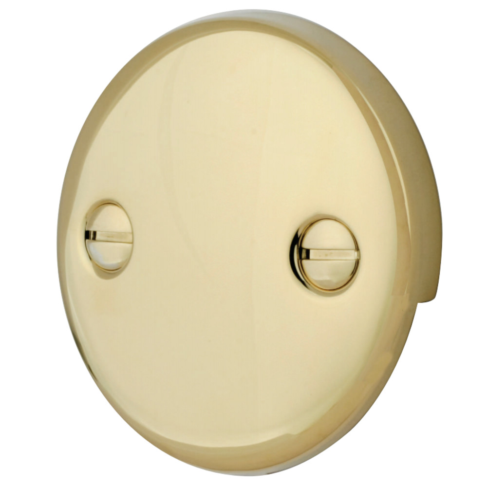 kingston brass dtt102 bath tub overflow plate polished brass kingston brass On bathroom plate