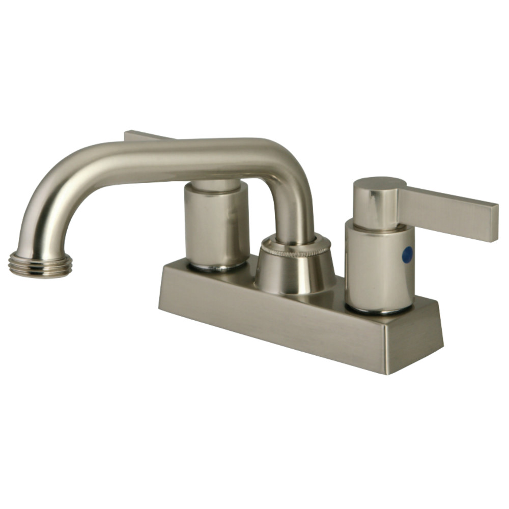 Kingston Brass KB2478NDL Two Handle 4-inch Centerset Laundry Faucet ...