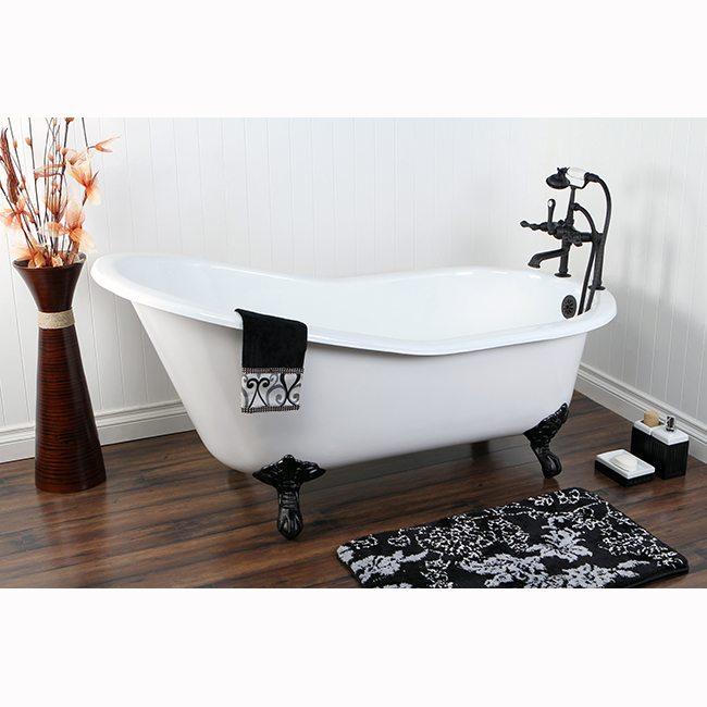 clawfoot tub plumbing fixtures. acrylic clawfoot tubs  Bathroom Design bathroom faucets Remodeling bathtub Kingston Brass tub faucet