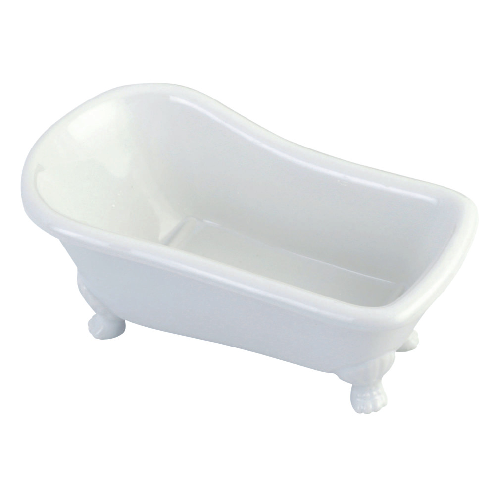 Wonderful Kingston Brass BATUBW 7 Inch Mini Clawfoot Tub With Feet, White