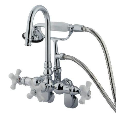 Wall Mount Clawfoot Tub Faucets Kingston Brass