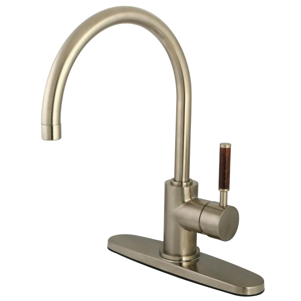 Kitchen Faucet No Deck Plate