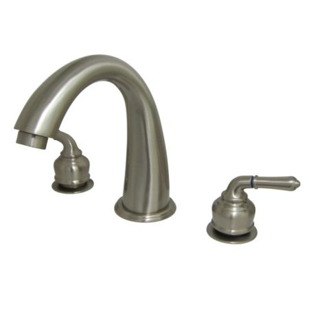 Kingston Brass KS2368 Roman Tub Filler, Satin Nickel
