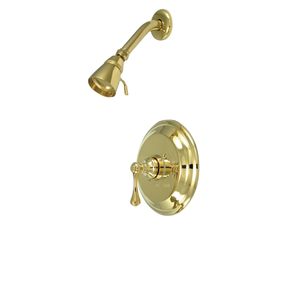 Kingston brass kb2632blso tub shower faucet shower only for Shower tub doors brass