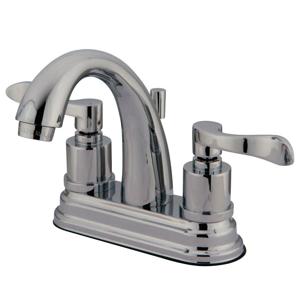 Kingston Brass Ks8611dfl 4 Centerset Lavatory Faucet Polished Chrome Kingston Brass