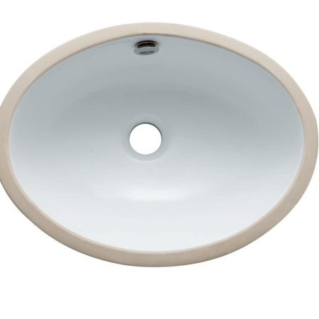 Kingston Brass LBO16147 Fauceture LBO16147 Marina Oval Undermount Bathroom Sink