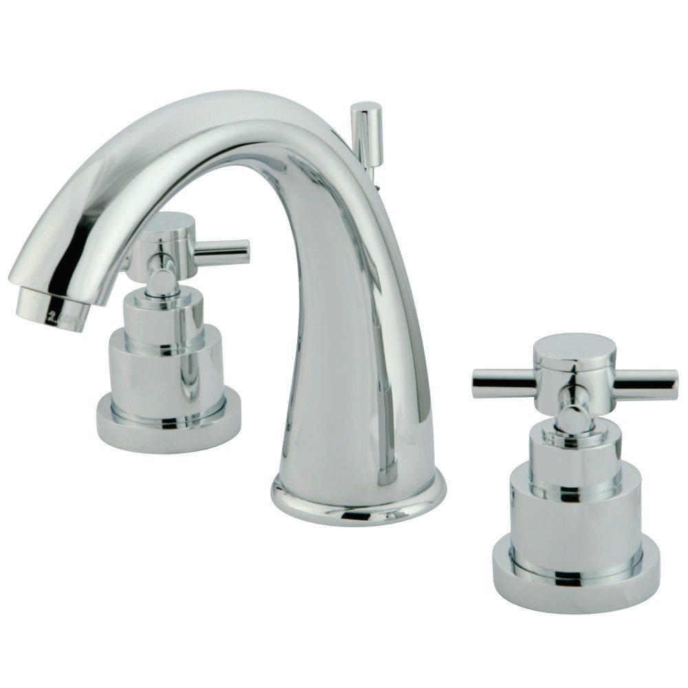 kingston brass ks2961ex elinvar widespread lavatory faucet