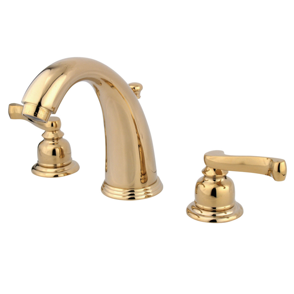 Kingston Brass KB982FL Royale Widespread Lavatory Faucet With Retail ...