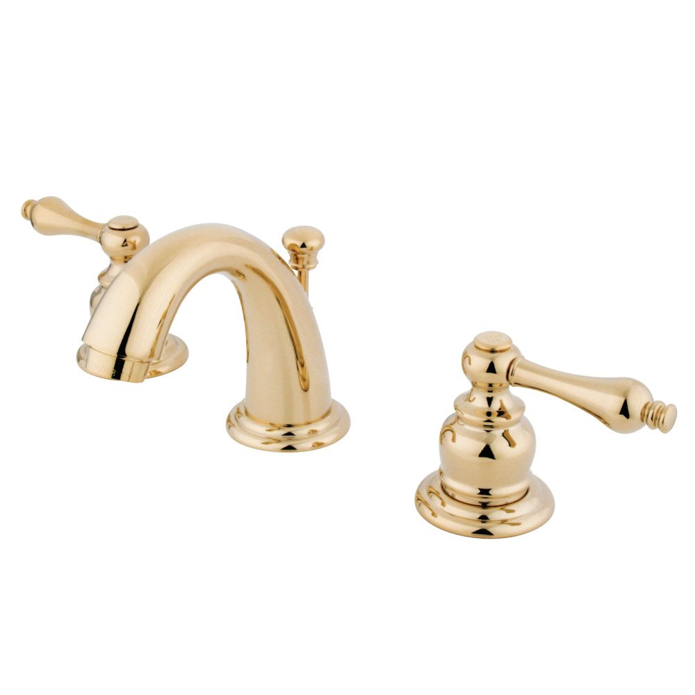 Kingston Brass KB912AL English Country Mini Widespread Lavatory ...