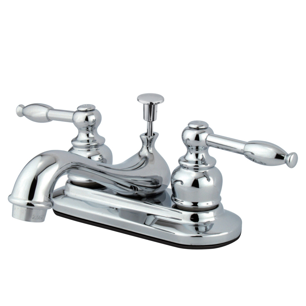 Kingston Brass Kb3944bl Vintage Classic Mini Widespread Faucet Polished Chrome Polished Brass