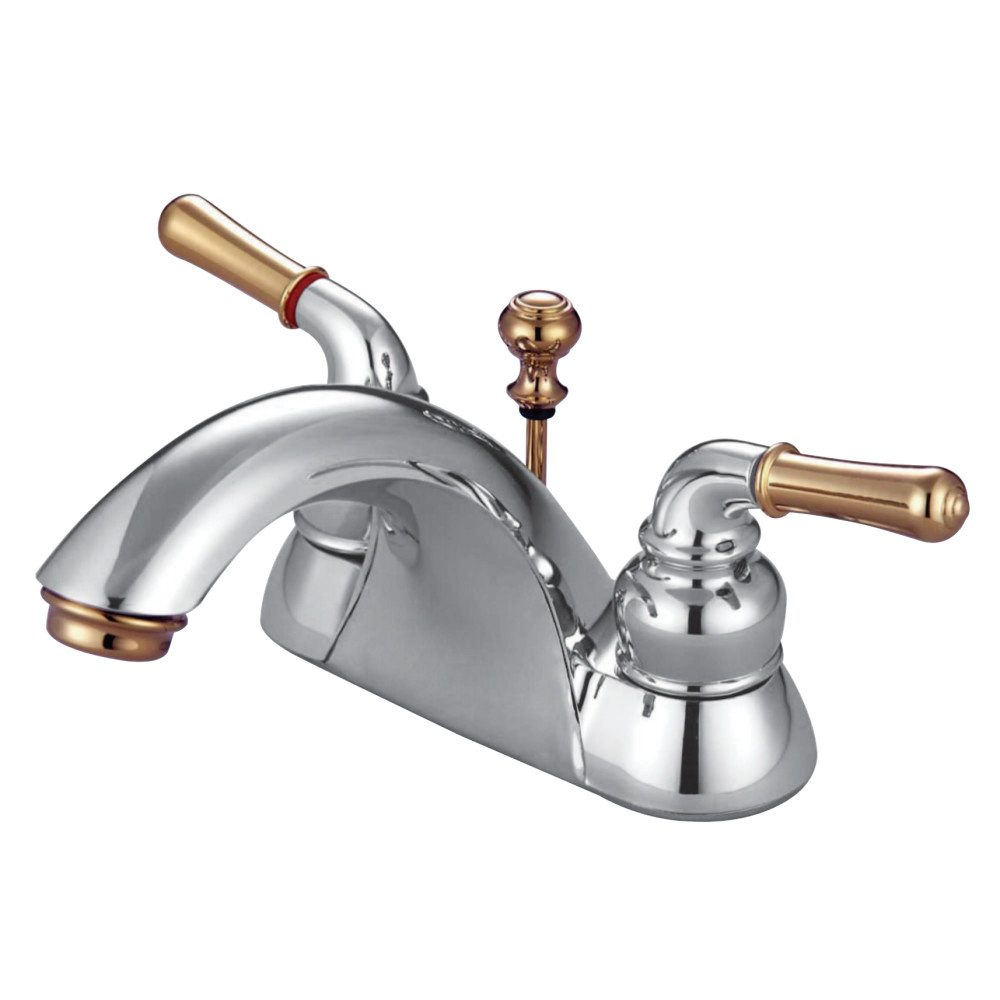 "Bathroom Faucets Kingston kingston brass kb2624 naples 4"" centerset lavatory faucet"