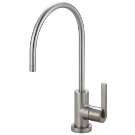Kingston Brass KS8198CTL Kingston Brass KS8198CTL Continental Single Handle Water Filtration Faucet, Satin Nickel