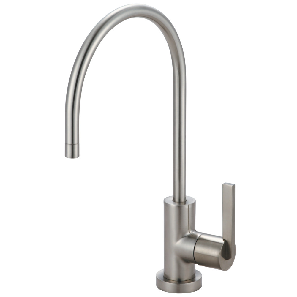 Filtered Water Dispenser Faucet. Kingston Brass KS8198CTL Continental Single Handle Water  Filtration Faucet Satin Nickel Dispensers Faucets
