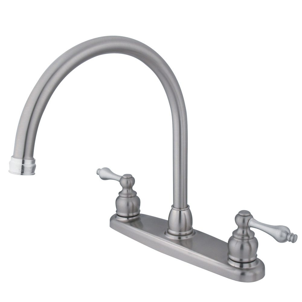 Kingston Brass KB727ALLS Victorian Gooseneck Kitchen