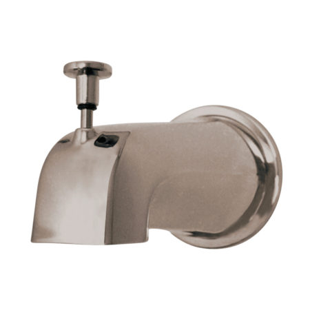 "Kingston Brass K188E8 Diverter Tub Spout with Flange and 1/2"" IPS"