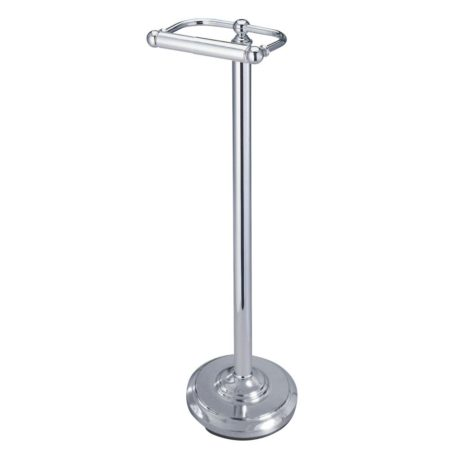 Kingston Brass CC2001 CLASSIC PEDESTAL PAPER HOLDER CHROME FINISH