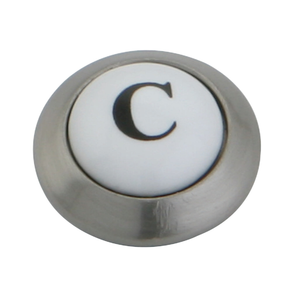 Kingston brass kshi3608axc cold button for ks3608ax satin nickel kingston brass kshi3608axc cold button for ks3608ax satin nickel buycottarizona Gallery