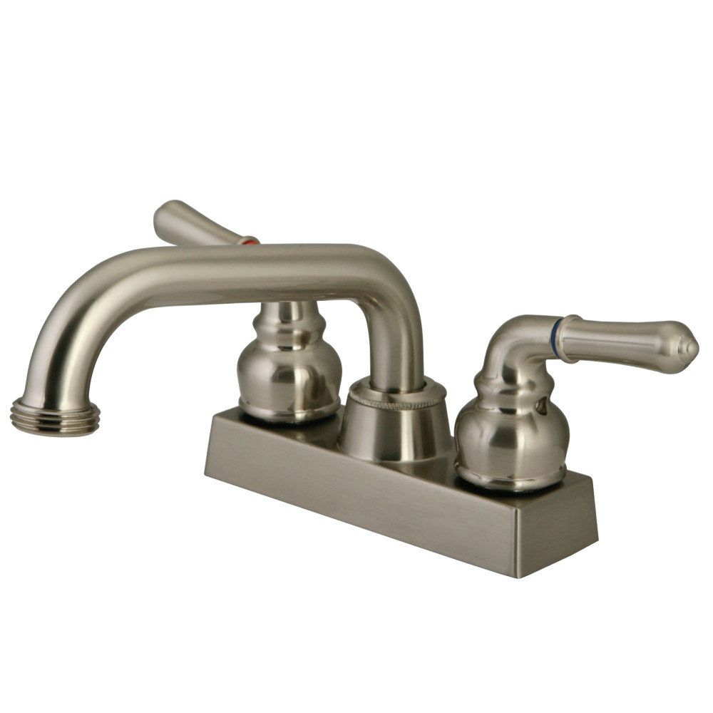 Kingston Brass KB2478NML Laundry Faucet, Brushed Nickel | Kingston Brass