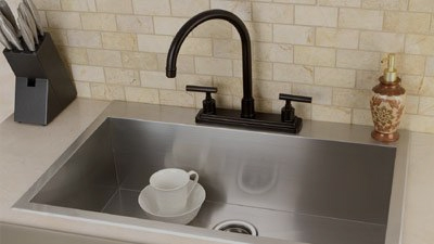 16 Gauge Stainless Steel Sinks
