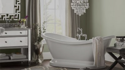 Stylish Tub Designs In An Array Of Finishes.