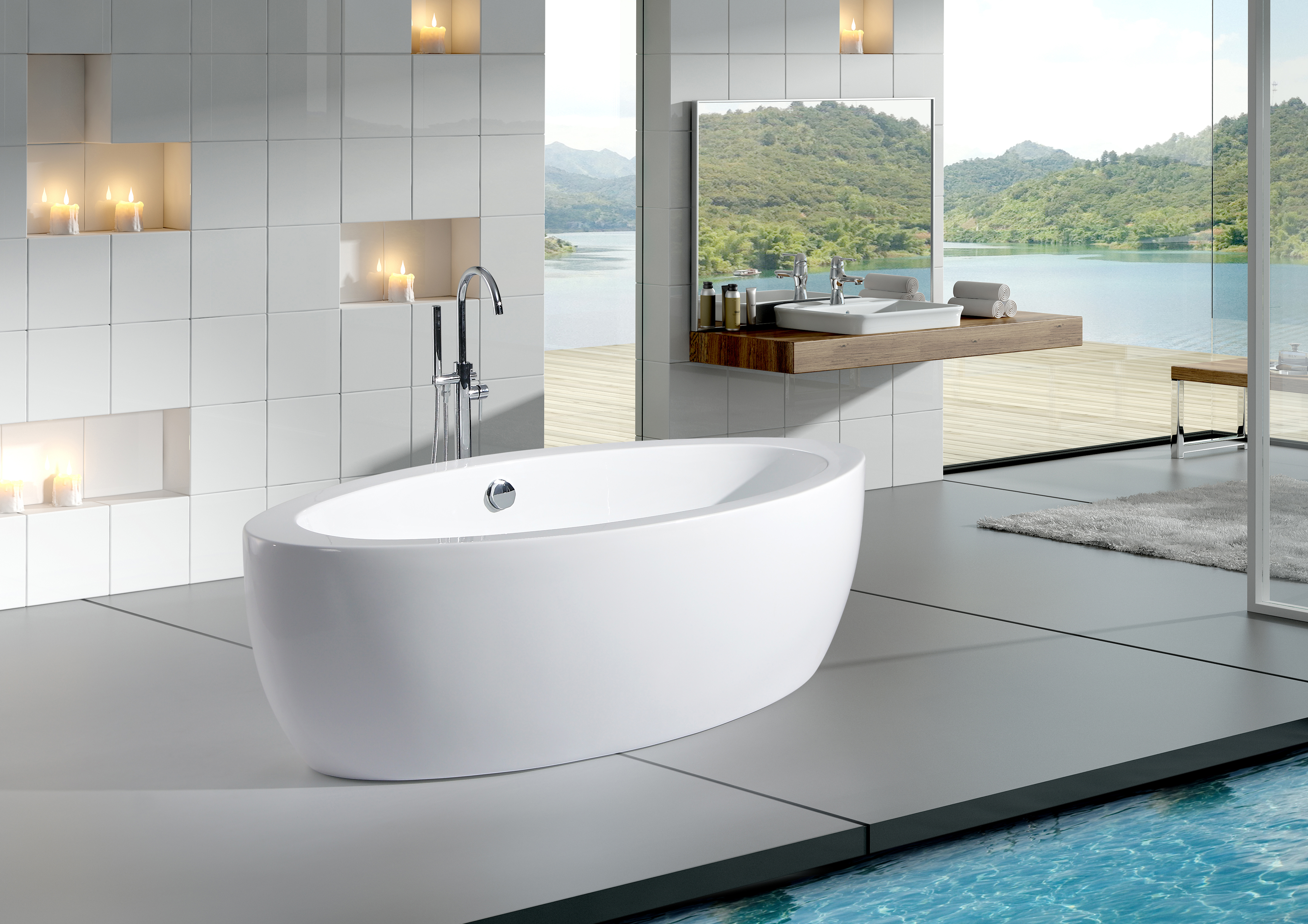 6 ways to turn your bathroom into a tropical oasis | Kingston Brass