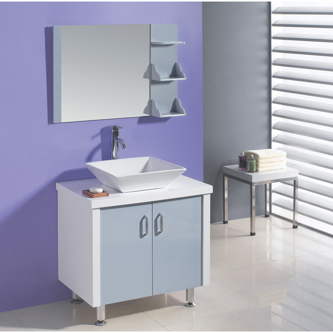 Turn your vanity into a makeup station.