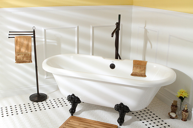 Add country chic touches to your bathroom