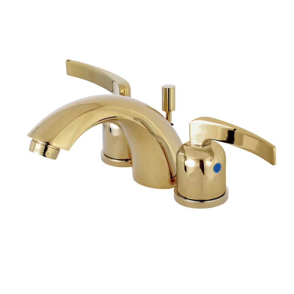 Kingston Brass KB8952EFL Mini-Widespread Lavatory Faucet, Polished ...