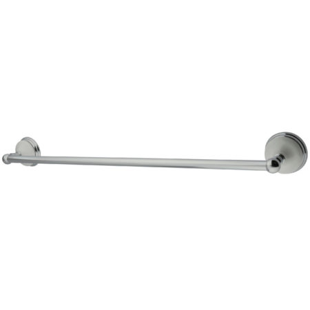"Kingston Brass BA1111C Victorian 24"" Towel Bar, Chrome"