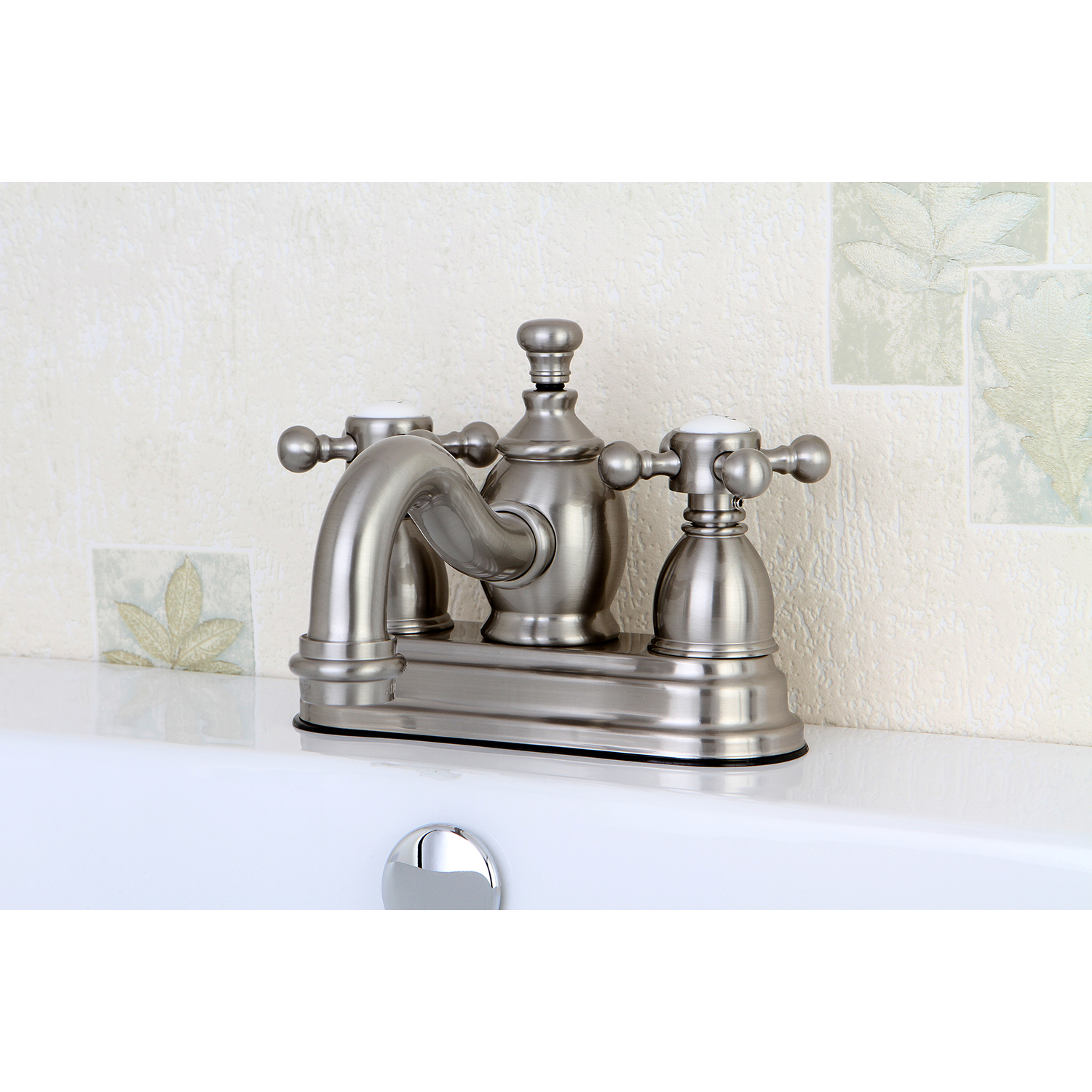 Kingston Brass Ks7108bx Kingston Brass Ks7108bx 4 Centerset Lavatory Faucet Kingston Brass