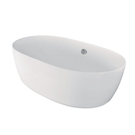 "Kingston Brass Aqua Eden 71"" Contemporary Freestanding Acrylic Bath Tub"