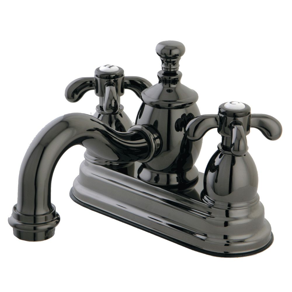 Kingston brass ns7100tx 4 inch centerset lavatory faucet - 4 inch widespread bathroom faucets ...