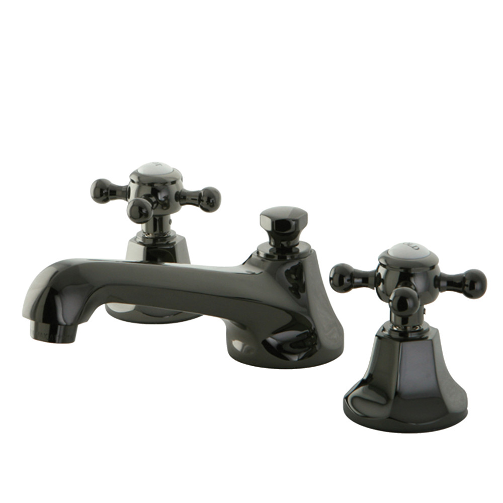 Kingston brass ns4460bx 8 inch widespread lavatory faucet - 4 inch widespread bathroom faucets ...