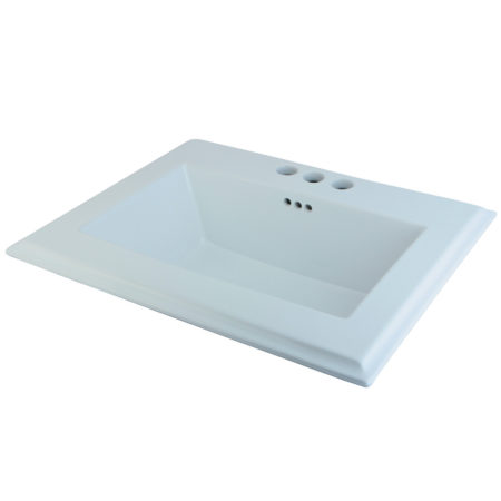 Fauceture LBT23196W34 Concord Surface Mount Basin, White