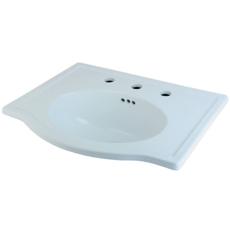 Fauceture LBT23186W38 Londonville Surface Mount Basin, White